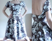 1950s Vintage Day Dress Sm/Xsm