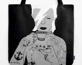 Colourful David BowieTote Bag by emilythepemily