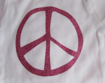 Peace bodysuit *FREE Shipping in U.S.
