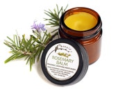 Rosemary Balm - Hawaiian Edition - Organic Herbal Salve - Fragrant Moisturizer - .85 oz jar