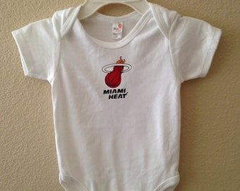 Miami Heat Onesie OR T-Shirt with Socks