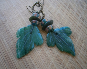 Mistress of the Sycamore Earrings