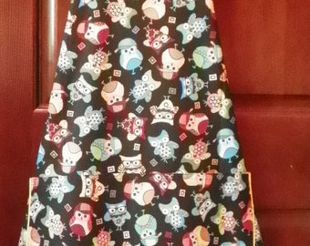 Tossed Owls A Style Kitchen Apron