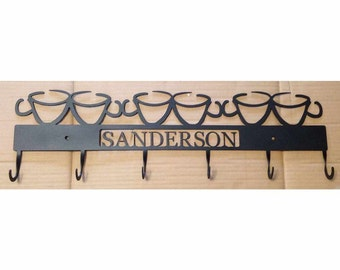 Coffee Cup Rack 6 Hook