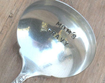 Vintage Silverware Silver Plate Ladle Mom's Gravy