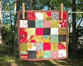 Red and Green Mini Quilt