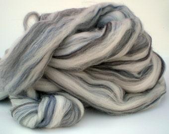 "Ashland Bay Merino Wool for Spinning or Felting ""Grey""  4 oz."