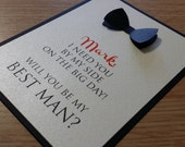 Debonair- Will You Be My Groomsman... Cards