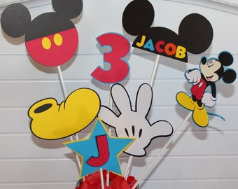 Mickey Mouse Clubhouse Set of 7 Centerpiece Sticks