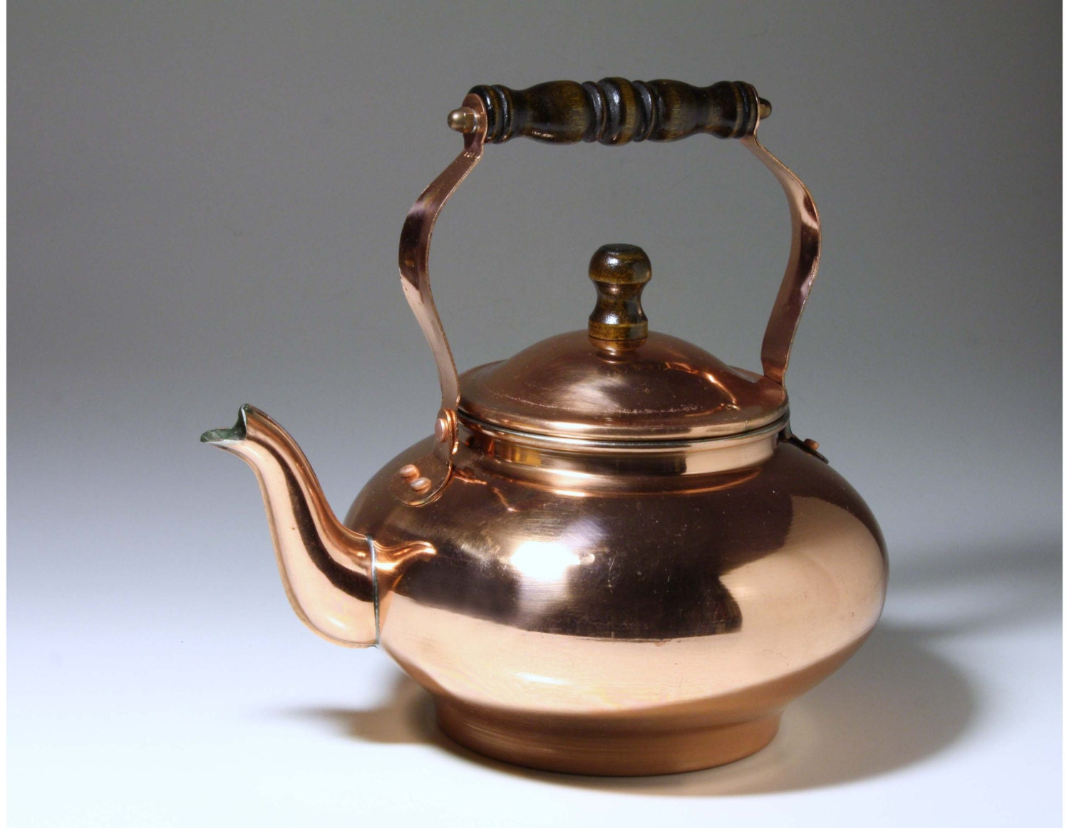 how to use a copper tea kettle