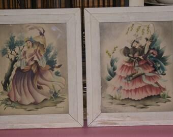 Vintage Victorian Ladies and Gents by Bernard