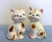 Japan Cat Salt and Pepper Shakers - Ceramic