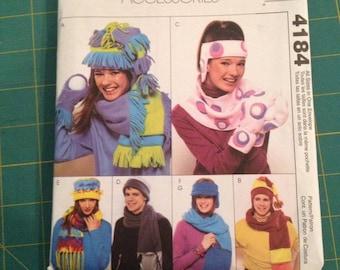 McCall's Winter Accessories Pattern #4184