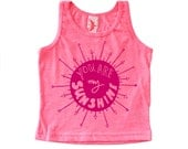 You Are My Sunshine Kids Tank - Children's Clothing, Screen Printed Shirt - Toddler Printed Tank - Tank Top - You Are My Sunshine