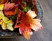 Edible, Candy Fall Leaves 60 -  Halloween / Thanksgiving  -as seen in Apartment Therapy Fall 2014