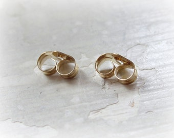 Gold Filled Earring Clutch, Gold Earring Back, Gold Stud Clutch, Gold Stud Back, Gold Filled Post Back, Butterfly Clutch, Add On Purchase