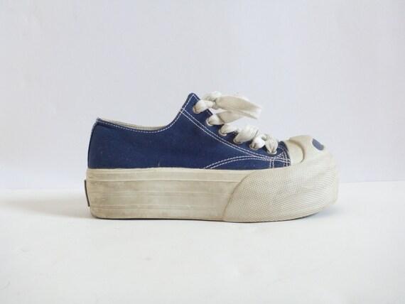 90s ROCKETDOG Platform Sneakers 5.5 Running Shoes Raver