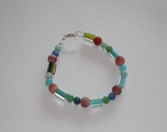 Red, Blue and Green Bracelet 2