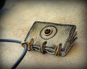 Sol and Luna Alchemy Mini Book  Necklace  by Dryw on Etsy