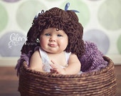 Cabbage patch kid style hat/wig