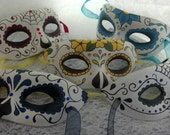 Custom Handpainted Day of the Dead Masks