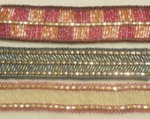 PATTERN Tila Half with bugle beads cuff style 3 patterns in one