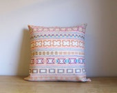 Chiang Mai Breeze hand- stitched tribal cotton pillow cover