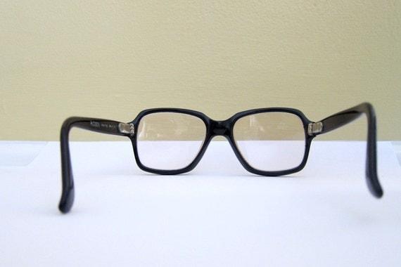 Glasses Frame Made In France : HUDSON Frame Eyeglasses Black Thick Frames Made in France