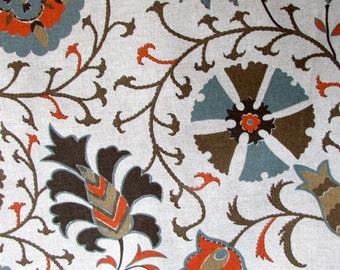 CALYPSO TANGERINE designer fabric, upholstery/curtain/multipurpose