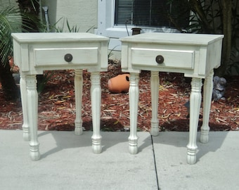 Bedside Table, End Table, Night Stand, Rustic Furniture, Farmhouse Style