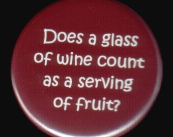 Just Wondering About The Wine Button