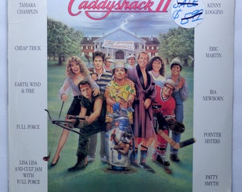 """Sealed """"Caddyshack II"""" Vinyl Soundtrack (1988) LP Kenny Loggins, Cheap Trick, Earth, Wind and Fire"""