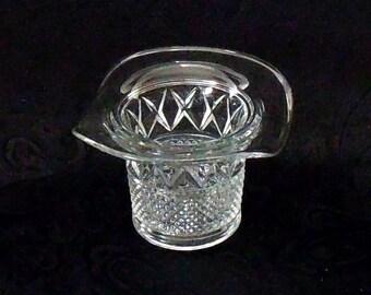 Duncan Miller Astaire Crystal Top Hat Vase