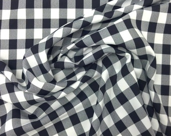 In Your Choice of 7 Colors - Woven Gingham Fabric