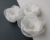 Ivory/Cream/Champagne Flowers,Weddings,Bridesmaids hair pins,Accessories,Bridal Flowers