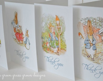 Beatrix Potter Peter Rabbit Note Cards