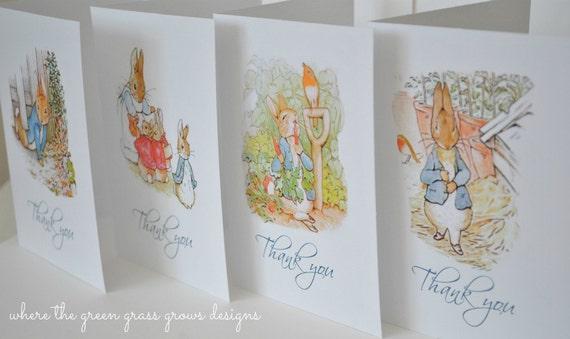 Beatrix Potter Peter Rabbit Note Cards