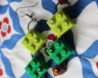 Foresty Lego earrings