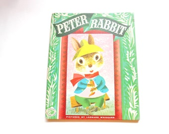 Peter Rabbit, a Vintage Children's Book Illustrated by Leonard Weisgard