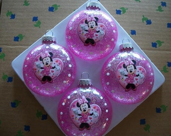 Ornaments - Minnie Mouse Inspired