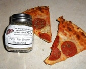 Pizza Pie Shaker Seasoning, Hand-blended Herb Mix, no salt, chives, dry mix, salt free, chili peppers