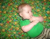 Teenage Mutant Ninjia Turtle Baby Blanket
