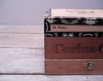 wood cigar box collection