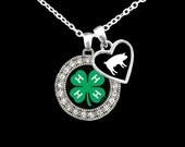 Stockshow Animal 4-H Charm Necklace