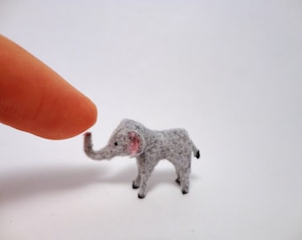 Tiny Elephant for the Dollhouse