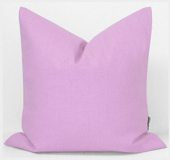 Sukan / Purple linen pillow purple pillows decorative by sukanart