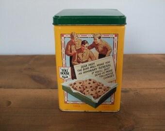 Vintage Nestle Toll House Cookie Tin