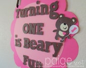 CLOSING SALE - See Homepage for Details! - Teddy Bear Party Sign - beary fun bear collection