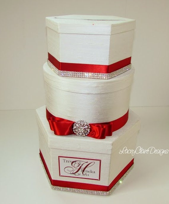 Wedding Card Boxes For Receptions: Wedding Card Box Reception Card Holder Bridal Shower Card Box