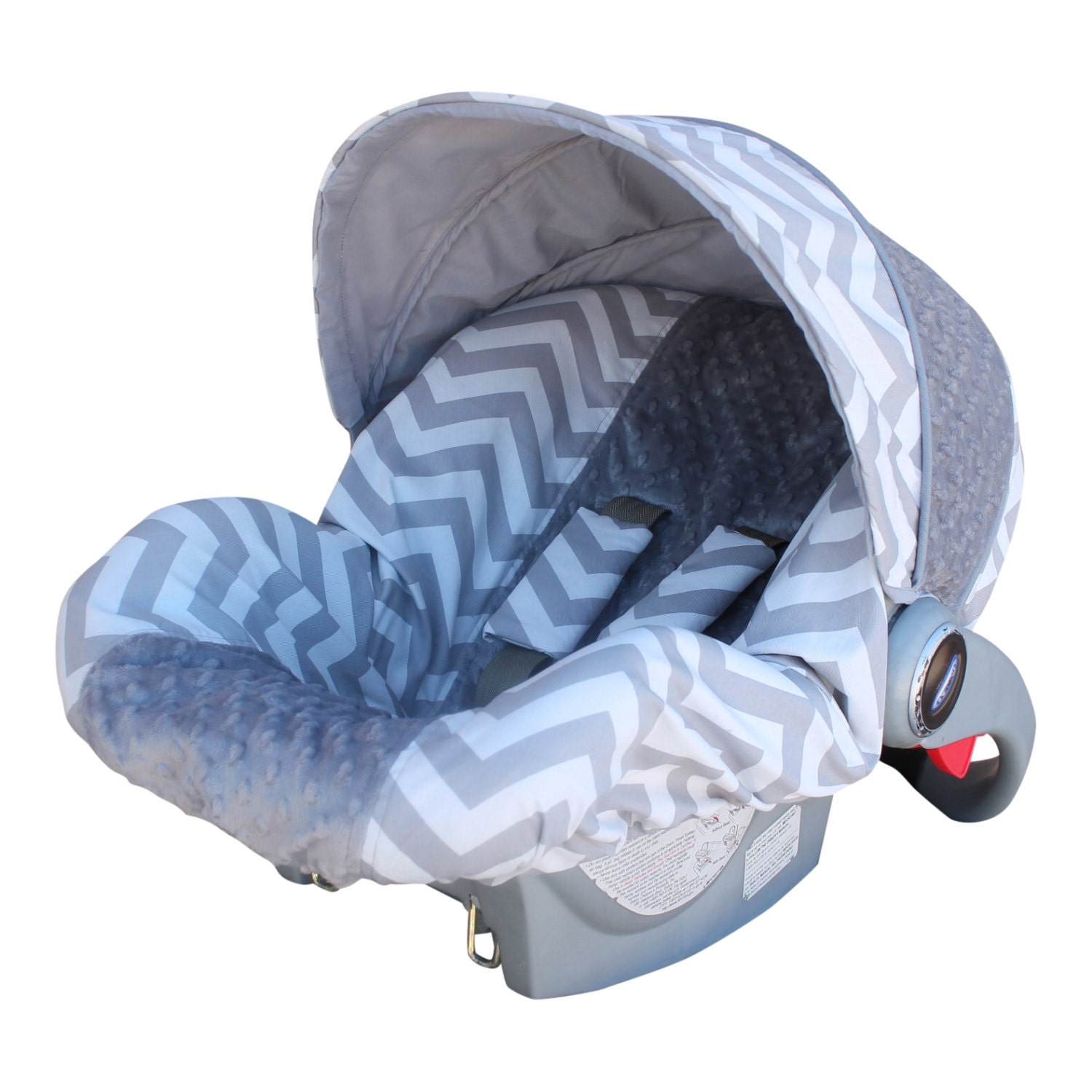 sale baby car seat cover infant car seat cover gray by isewjo. Black Bedroom Furniture Sets. Home Design Ideas